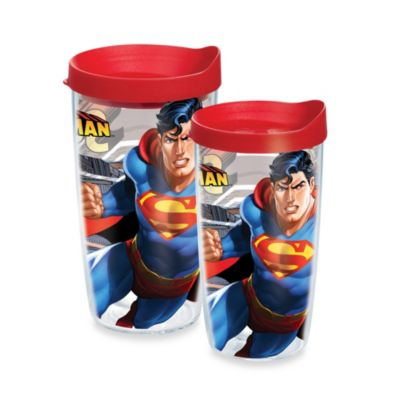 Tervis® 16-Ounce Superman Wrap Design Tumbler with Lid