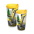 Tervis® Construction Trucks Wrap Tumbler with Yellow Lid
