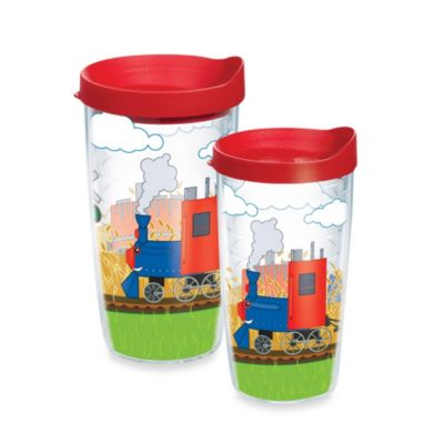 Tervis® 16-Ounce Trains Wrap Design Tumbler with Lid