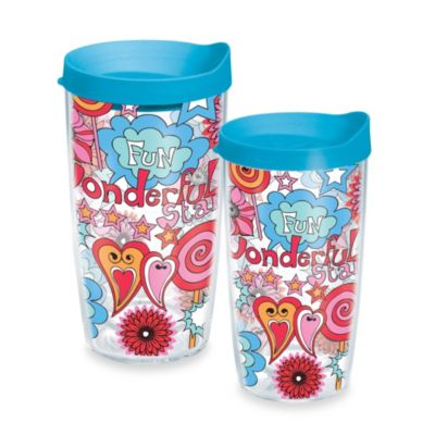 Tervis® Pop Art 10-Ounce Wrap Tumbler with Blue Lid