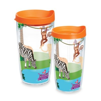 Tervis Orange Wrap Tumbler