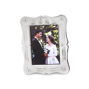 "Waterford® Wedding Crystal 5"" x 7"" Frame"