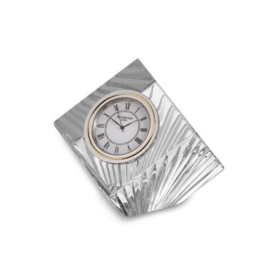 "Waterford Meridian Crystal 2 1/2"" H Clock"
