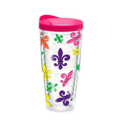 Tervis® Fleur de Lis Collage 24–Ounce Wrap Tumbler with Lid