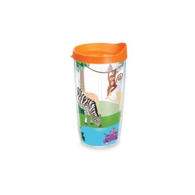Tervis® Safari Animals 10-Ounce Wrap Tumbler with Orange Lid