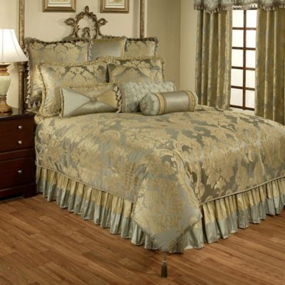 Austin Horn Classics Duchess 4-Piece California King Comforter Set