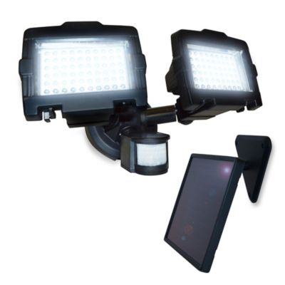 120 LED Dual lamp Solar Security Light