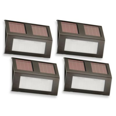 Solar Step Lights (Set of 4)