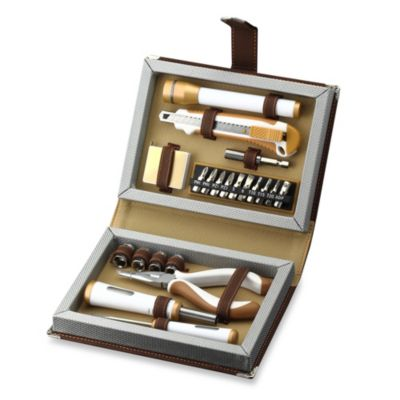 Brown Tool Set