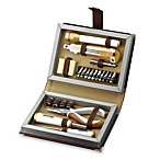 Tool Bro 22-Piece Tool Set in Brown Leather Book Case