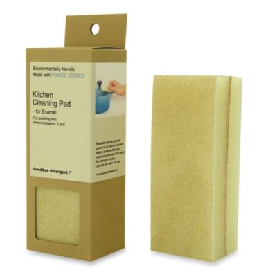 Kitchen Cleaning Pads for Enamel Cookware (Set of 2)