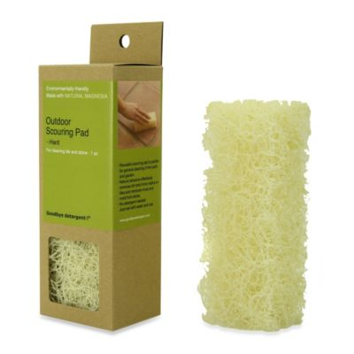 Goodbye Detergent Hard Outdoor Scouring Pad for Tile and Stone