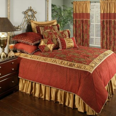 Austin Horn Classics Montecito European Pillow Sham in Gold