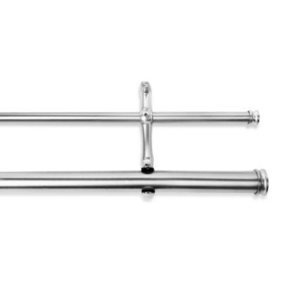 Cambria® Premier Complete 88-Inch x 144-Inch Double Drapery Rod in Polished Nickel