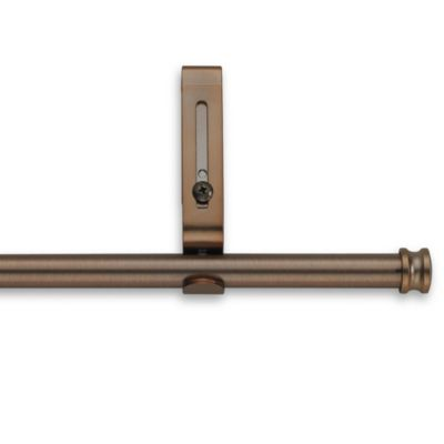 Cambria® Classic Complete Decorative 28-Inch x 48-Inch Drapery Rod in Oil Rubbed Bronze