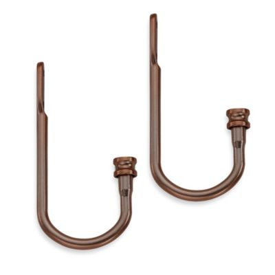 Cambria® Classic Complete Drapery Holdbacks in Oil Rubbed Bronze (Set of 2)