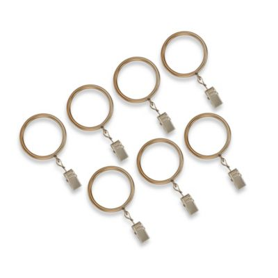 Cambria® Classic Complete® Clip Rings in Warm Gold (Set of 7)