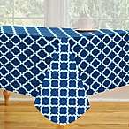 Lattice Vinyl Tablecloth