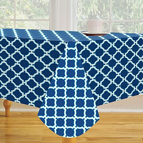 Buy Round Vinyl Tablecloths From Bed Bath Amp Beyond