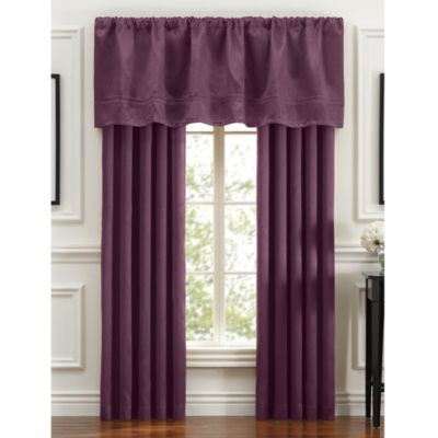 Braxton Window 84-Inch Panel Pair in Purple