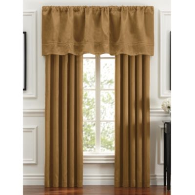 Braxton Window Valance in Gold