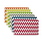 Sentra 100% Cotton Chevron Placemats (Set of 6)