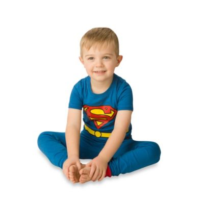 Intimo Superman 2-Piece Snug-Fit Pajama Set