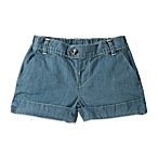 Burt's Bees Baby™ Organic Cotton Chambray Woven Cuff Short