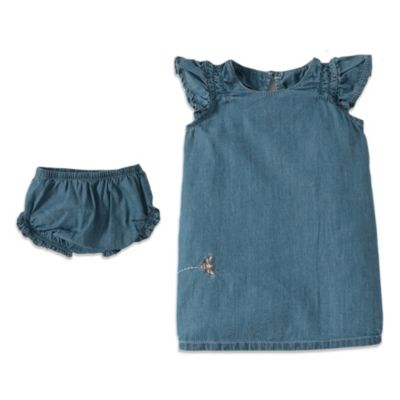 Burt's Bees Baby™ Chambray Dress and Diaper Cover Set
