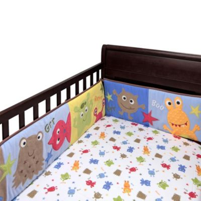 Bananafish® Baby Monster Crib Sheet