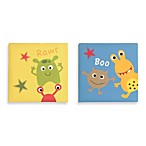 Bananafish® Baby Monster Wall Art