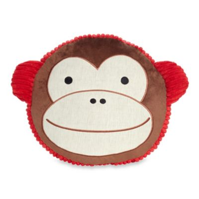 SKIP*HOP® Zoo Monkey Throw Pillow