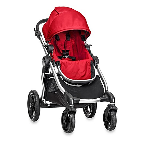 Full Size Strollers > Baby Jogger® City Select® BJ20430 Single Stroller in Ruby