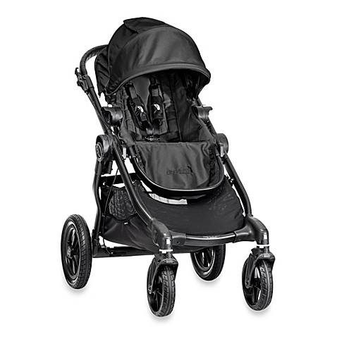 Full Size Strollers > Baby Jogger® City Select® Black Frame Single Stroller in Black