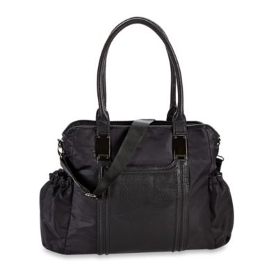 Kenneth Cole Reaction® Square One Tote Diaper Bag in Black