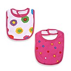 Puusku Bibs for Girls (Set of 2)