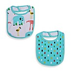 Tapara Bibs in Blue for Boys (Set of 2)