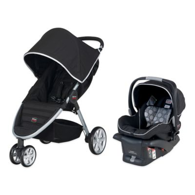 Travel Systems > BRITAX B-Agile S896000 Travel System in Black
