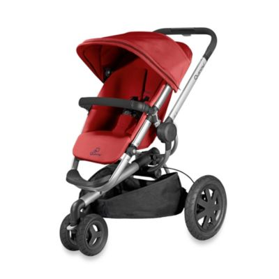 Full Size Strollers > Quinny® Buzz Xtra Stroller in Red Rumor