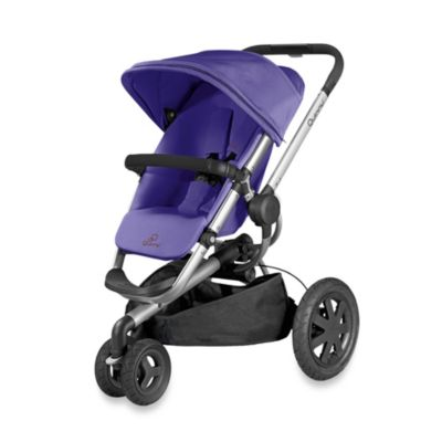 Full Size Strollers > Quinny® Buzz Xtra Stroller in Purple Pace