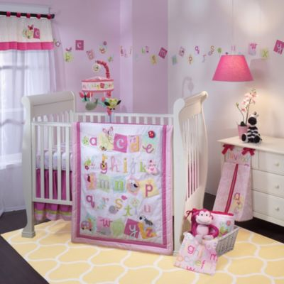 Lambs & Ivy® Sweet ABC 4-Piece Crib Bedding Set