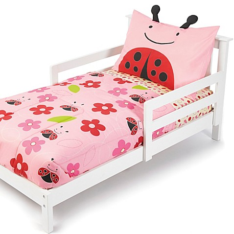 skip hop zoo 4 piece ladybug toddler bedding and accessories is not