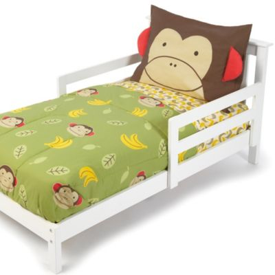 SKIP*HOP® Zoo 4-Piece Monkey Toddler Bedding Set