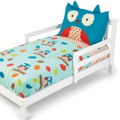 SKIP*HOP® Zoo 4-Piece Owl Toddler Bedding Set