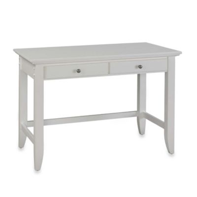 Home Styles Naples Student Desk in White