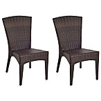 Safavieh New Castle Wicker Side Chairs (Set of 2)