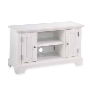 Home Styles Naples TV Stand in White