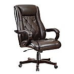 Office Star Products Inspired by Bassett Chapman Executive Chair in Espresso