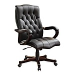 Office Star Products Inspired by Bassett Dixon Executive Chair in Black