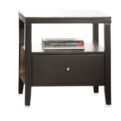 Verona Home Sleek One Storage End Table